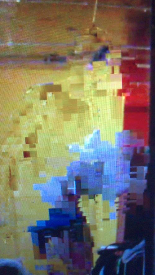 'Blue man standing' film still, London, 2014 Ismail Erbil